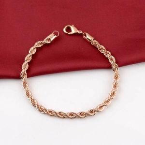 Other - 18K Rose Gold Filled Bracelet